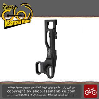 آداپتور نصب طبق عوض کن برقی دوچرخه برند شیمانو مدل ایکس تی آر-اف دی 905 ای SHIMANO XTR DI2 Mount Adapter for Front Derailleur E-type Mount SM-FD905-E