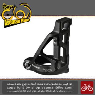 آداپتور نصب طبق عوض کن برقی دوچرخه برند شیمانو مدل ایکس تی آر-اف دی 905 ال SHIMANO XTR DI2 Mount Adapter for Front Derailleur Low Clamp Type SM-FD905-L