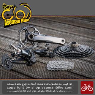 ست کامل دنده و ترمز هیدرولیک دوچرخه برند شیمانو مدل ایکس تی آر-ام 9100 Shimano Groupset Shifting and Brake XTR M9100