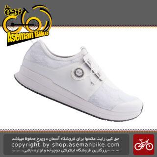 کفش دوچرخه سواری فضا سربسته شیمانو بانوان مدل آی سی 300 Shimano Indoor Shoes IC3 WOMEN SH-IC300