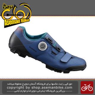 کفش دوچرخه سواری آفرود بانوان شیمانو مدل ایکس سی 501 دبلیو Shimano Off Road Women Shoes XC5 SH-XC501