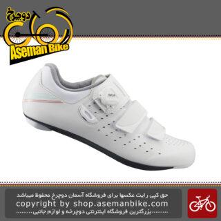 کفش دوچرخه سواری جاده کورسی بانوان برند شیمانو مدل آر پی 400 Shimano Onroad Shoes Women RP4 SH-RP400