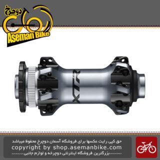 توپی جلو دیسکی دوچرخه برند شیمانو مدل ایکس تی آر-ام 9110 بی اس XTR Disc Brake Front Hub 110x15 mm E-THRU Axle HB-M9110-BS
