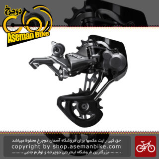 شانژمان دوچرخه برند شیمانو مدل ایکس تی آر-ام 9100 جی اس XTR Medium Cage Rear Derailleur 11/12-speed RD-M9100-GS
