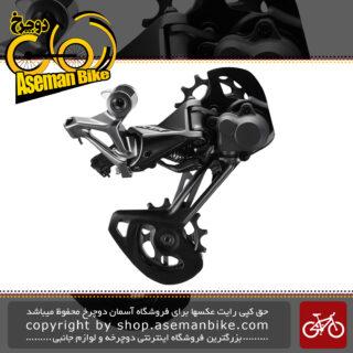 شانژمان دوچرخه برند شیمانو مدل ایکس تی آر-ام 9120 اس جی اس XTR Medium Cage Rear Derailleur 2x12-speed RD-M9120-SGS