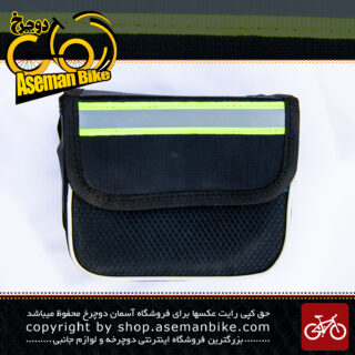 کیف جلو کرپی دوچرخه با نوار شبرنگ Bicycle Bag