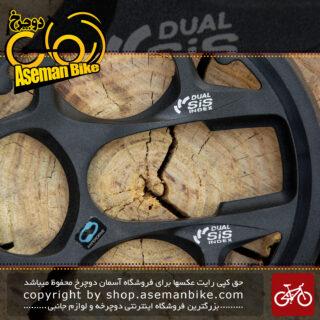 گارد طبق قامه دوچرخه مدل دوال سیس ایندکس تکنولوژی هایپر درایو Crankset Guard Dual sis index Hyper Drive Technology