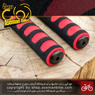 گریپ فوم دوچرخه برند ترکام ساخت تایوان قرمز Tercom Foam Grip Taiwan