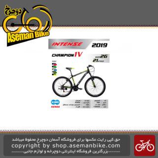 دوچرخه کوهستان اینتنس طرح چمپیون 1 وی سایز 26 21 سرعته 2019 Intense Mountain Bicycle Champion 1V 26 21 Speed 2019