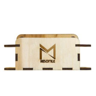مینی استند چوبی قلم و دفترچه مشکی برند کد اکسپو 80 Meshki Brand Mini Wooden Pen Stand EXPO80