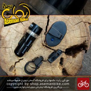 ست چراغ عقب و جلو دوچرخه برند توتی مدل پاور بیم TOTI Bicycle Light Set Front And Rear Power Beam