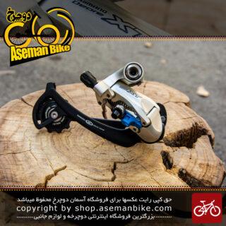 شانژمان دوچرخه برند شیمانو سری دئور ایکس تی مدل ام 760 Shimano Rear Derailleur Deore XT M760