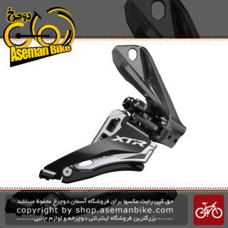 طبق عوض کن دوچرخه برند شیمانو مدل ایکس تی آر-ام 9100 دی SHIMANO XTR SIDE SWING Front Derailleur (Direct Mount ) 2x12-speed