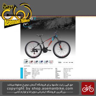 دوچرخه کوهستان برند ترینکس طرح ام 100 وی سایز 24 21 سرعته 2019 Trinx Mountain Bicycle M100V 24 21 Speed 2019
