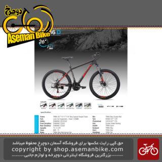 دوچرخه کوهستان برند ترینکس طرح ام 136 دی سایز 26 21 سرعته 2019 Trinx Mountain Bicycle M136D 26 21 Speed 2019