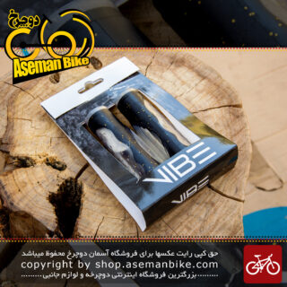 گریپ دوچرخه برند وایب مدل 603 اس 8 Bicycle Grip Vibe Brand Code 603S8