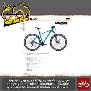 دوچرخه کوهستان کیوب مدل اتنشن اس ال سایز 29 2019 CUBE Mountain Bicycle Attention SL 29 2019