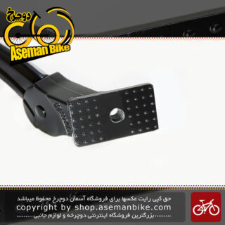 جک استند وسط دوچرخه تنظیمی برند مس لود مدل کی ای 36 ساخت تایوان Kick Stand Bicycle Middle Masslod Taiwan KA36 Black