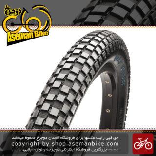 لاستیک تایر شهری دوچرخه ماکسیس تایوان هولی رولر سایز 26 در 2.20 Maxxis Holy Roller Taiwan Urban MTB Mountain Bike Tyre 26×2.20