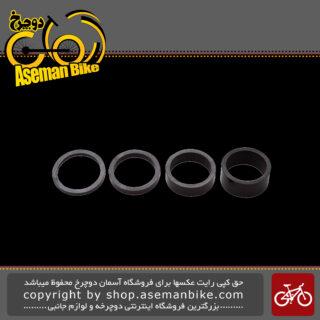 حلقه های کاسه دوشاخ دوچرخه پرو کربن 3000 مدل 320442 PRO Spacer Set 3K Carbon PR320442