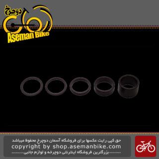 حلقه های کاسه دوشاخ دوچرخه پرو آلیاژی مدل 320492 PRO Spacer Set Alloy PR320492