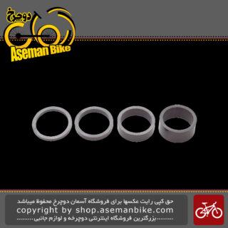 حلقه های کاسه دوشاخ دوچرخه پرو کربن مدل 0004 PRO Spacer Set UD Carbon PRAC0004