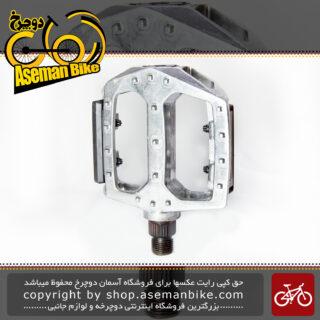 پدال رکاب دوچرخه برند راپیدو آلومینیومی میخ دار مدل Bicycle Pedal Rapido Alloy