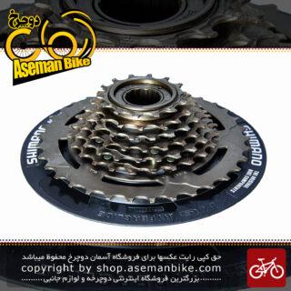 خودرو دوچرخه شیمانو مدل ام اف - تی زد 31 مگا رنج 14 - 34 دندانه Shimano Cassett Bicycle MF-TZ31 Megarange 14-34T