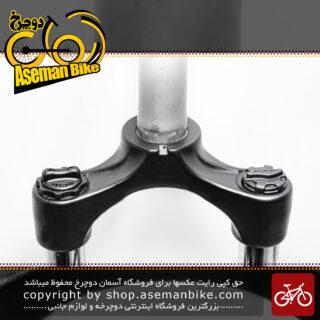 دوشاخ جلو دوچرخه آر اس تی  مدل کِرو سایز 26 تنظیمی با بازی 8 سانت Fork Bicycle RST CARVE