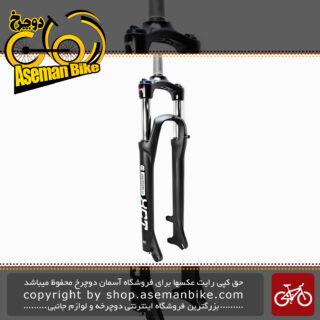 دوشاخ جلو دوچرخه اس آر سانتور مدل ایکس سی تی سایز 29 قفل کن دار هیدرولیکی تنظیمی با بازی 10 سانت Fork Bicycle SR Suntor XCT 29 Disc Black HYD Lock