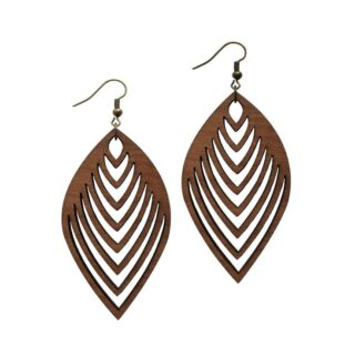 گوش باله مشکی برند طرح اِینجل جولری 1313 Meshki Brand Ear Ring Angel Jewelry 1313