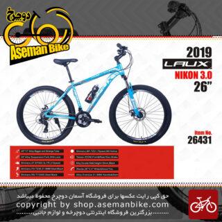 دوچرخه کوهستان و شهری لاکس سایز 26 ترمز دیسکی مدل نیکون 3.0 LAUX Bicycle Size 26 NIKON 3.0 2019