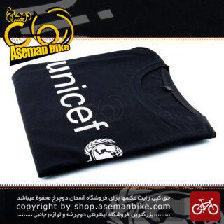 تیشرت ورزشی مشکی برند طرح یونیسف مدل اکسپو 1313 Meshki Brand Sport T-Shirt UNICEF Expo1313