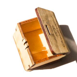 مینی باکس جواهر مشکی برند مدل سیلیکات 11 Meshki Brand Mini Jewelry Box Silicate 11