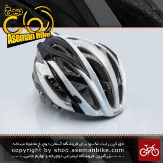 کلاه دوچرخه سواری جاینت آرس نقره ای سایز 61-58 سانتی متر Giant Bicycle Helmet ARES Silver size 58-61 cm