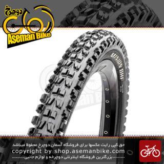 لاستیک تایر دوچرخه ماکسیس تایوان مینیون دی اچ اف سایز 26 در 2.35 Maxxis Minion DHF Taiwan Off Road MTB Mountain Bike Tyre 26x2.35