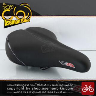 زین صندلی پهن طبی دوچرخه ولو اند زون مدل کامفورت 8128 ای سوپاپ دار فنر دار Saddle Bicycle Velo Endzone Comfornt 8128 E