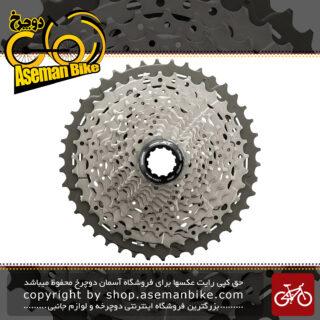 خودرو دوچرخه کوهستان شیمانو ایکس تی 11 سرعته مدل سی اس - ام 8000 Shimano DEORE XT CS-M8000 11-Speed MTB Cassette Sprocket 10-42T