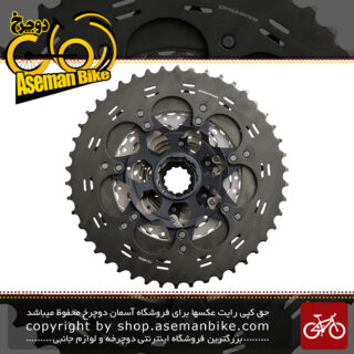 خودرو دوچرخه کوهستان شیمانو ایکس تی 11 سرعته مدل سی اس - ام 8000 Shimano DEORE XT CS-M8000 11-Speed MTB Cassette Sprocket