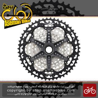 خودرو دوچرخه کوهستان شیمانو ایکس تی 12 سرعته مدل سی اس - ام 8100 Shimano DEORE XT CS-M8100 12-Speed MTB Cassette Sprocket 10-51T