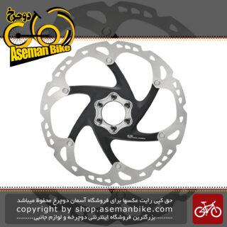 صفحه دیسک ترمز هیدرولیک شش 6 پیچ دوچرخه برند شیمانو مدل اس ام - آر تی 86 180 میلیمتری Shimano Rotor Disc SM-RT86 180mm