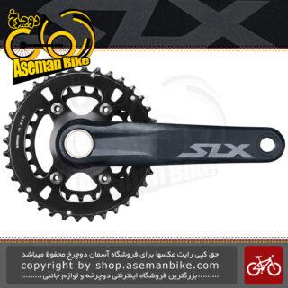 طبق قامه دوچرخه کوهستان شیمانو مدل اس ال ایکس ام 7120 بی 2 36 در 26 دندانه Shimano SLX FC-M7120-B2 Crankset 2x12-speed 36X26T