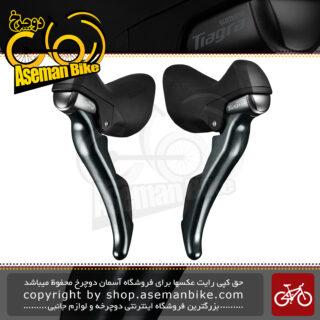 دسته دنده دوچرخه کورسی جاده شیمانو تیاگرا 4700 2 در 10 سرعته Shimano Tiagra ST-4700 2×10 speed Shift Brake Lever