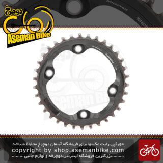 سینی طبق قامه دوچرخه شیمانو ایکس تی 11 سرعته اس ام - سی آر ام 890 34 دندانه Shimano XT 11-Speed Chainring SM-CRM80 34T for FC-M8000