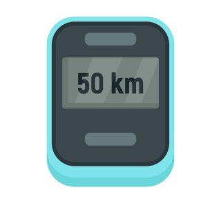کیلومتر - کامپیوتر - جی پی اس