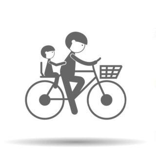 صندلی کودک و تریلر جهت حمل کودک برای دوچرخه