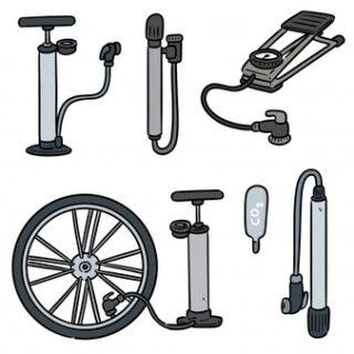 انواع تلمبه / پایی / دستی / زمینی / کوچک / بزرگ دوچرخه
