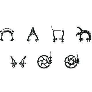 انواع ترمز دوچرخه هیدرولیک روغنی / ویبریک / دیسکی / یو بریک / گلنگی