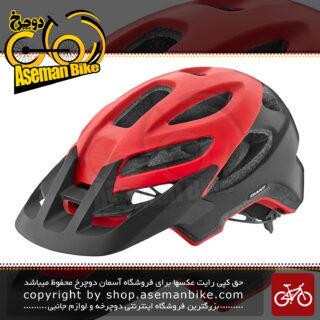کلاه دوچرخه سواری جاینت لیو مدل روست میپس ساخت تایوان قرمز/مشکی سایز مدیوم 55-59 Giant Bicycle Helmet LIV ROOST MIPS