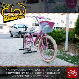 دوچرخه دخترانه رامبو سایز 20 مدل رایموند اسپرت صورتی RAMBO Raymond Bicycle Size 20 Kids Girl Pink Light Sport
